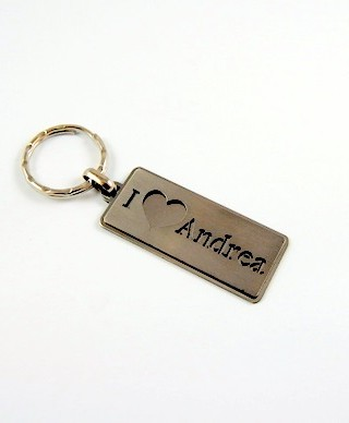 Kľúčenka I love Meno
