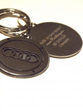 Kľúčenka Audi kruhová