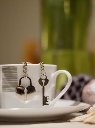 Kľúčenky pre dvoch - Kľúč a zámok