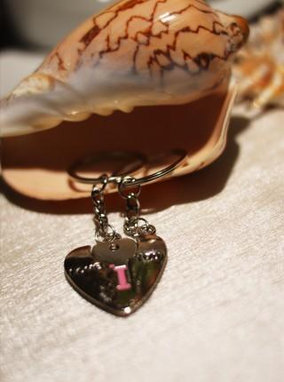 Kľúčenky pre dvoch - Srdce a kľúč